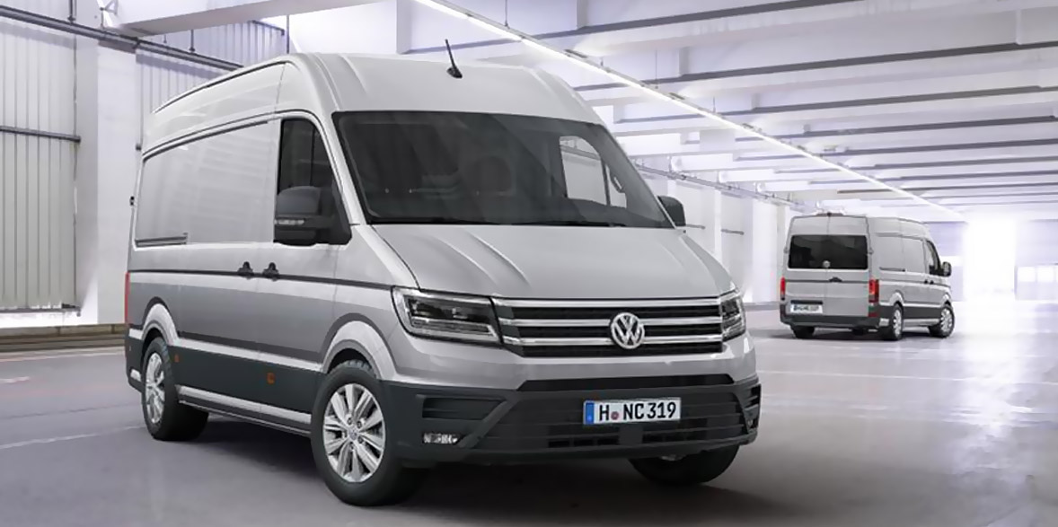 INTEGRATION OF KUKA ROBOTS FOR THE NEW VW CRAFTER IN WRZEŚNIA