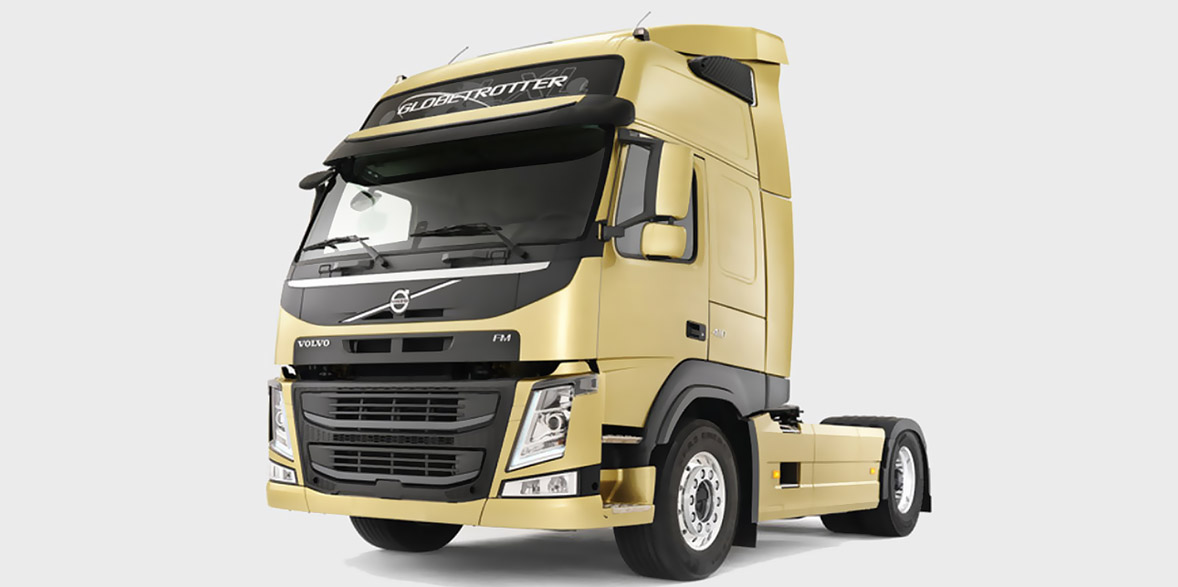 Projekt dla Volvo Trucks UMEA Szwecja na robotach ABB