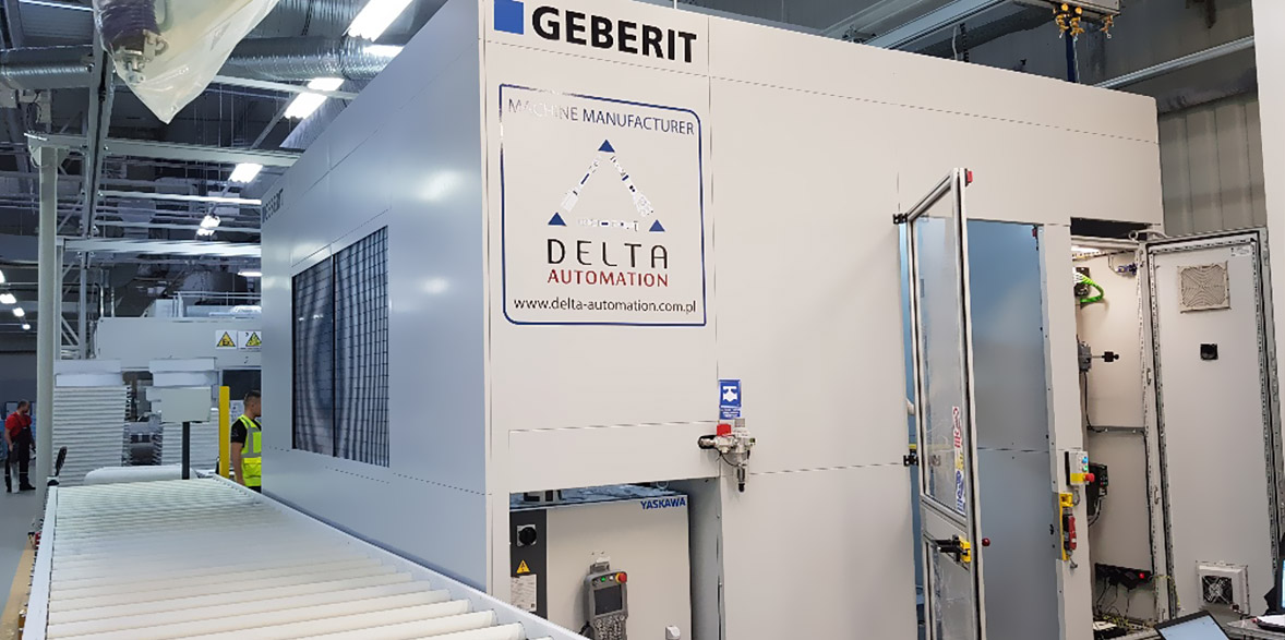 Advanced system for processing composites for Geberit