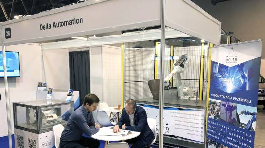 DELTA AUTOMATION at Expo SILESIA – The Trade Fair for Maintenance and Industrial Technology.